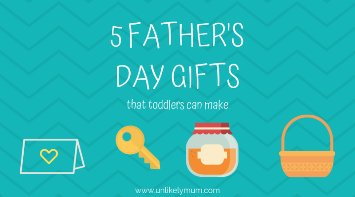 Homemade Father's Day Gifts for Kids