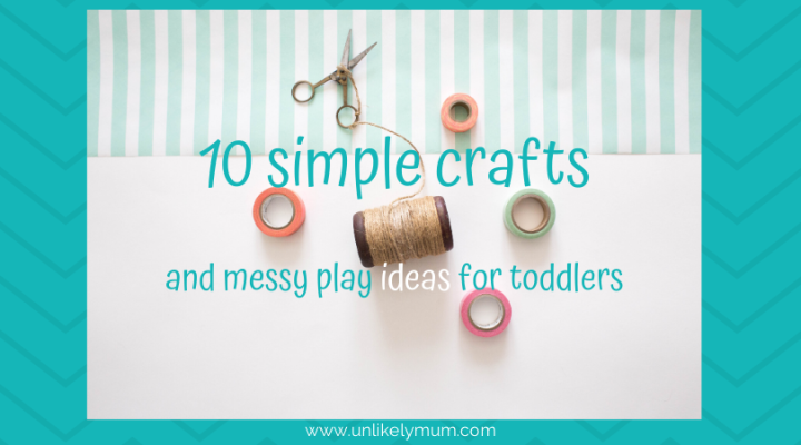 10 simple toddler crafts and messyplay