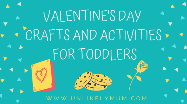 Valentines crafts and activities for toddlers