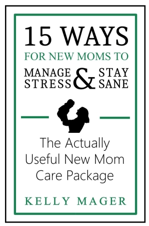 green-book-cover-15-ways-new-moms-manage-stress-stay-sane