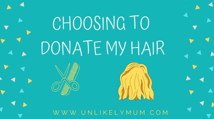 Choosing to donate myhair